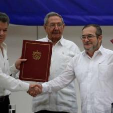 ¿Paz en Colombia,  pero no en Cuba?