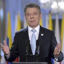 Colombia's president: Vote will show 'overwhelming' support for peace accords