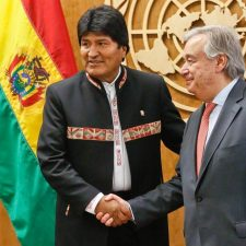 This is no joke: Bolivian ruler invokes his 'human right' to stay in power