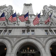 Trump has no reservations about officials using his hotels to curry favor