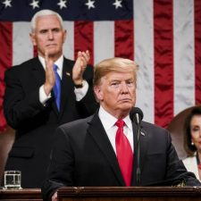 Trump delivered a schizophrenic State of the Union address: levelheaded on Venezuela, unhinged on Mexico