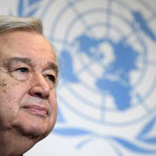 El jefe de la ONU rompe su silencio sobre Venezuela