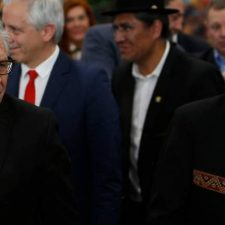 OAS chief gives a boost to Bolivia's dictatorship. What does he stand to gain?