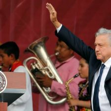 Mexico's leader is very popular, but his country is going downhill
