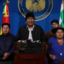 Bernie Sanders, others call it a coup, but never denounced Morales' election fraud in Bolivia